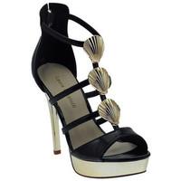 Chaussures Femme Sandales et Nu-pieds Laura Biagiotti Sandalo Gioiello Plateau Zip Sandales