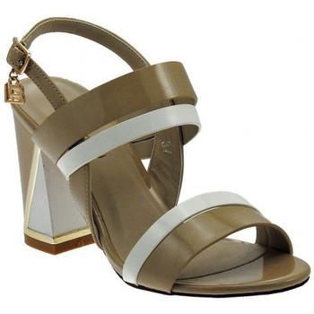 Chaussures Femme Sandales et Nu-pieds Laura Biagiotti Sandalo Tacco Largo Doppia Fascia Sandales