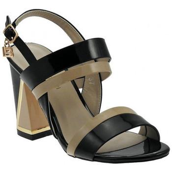 Sandales et Nu-pieds Laura Biagiotti Sandalo Tacco Largo Doppia Fascia Sandales