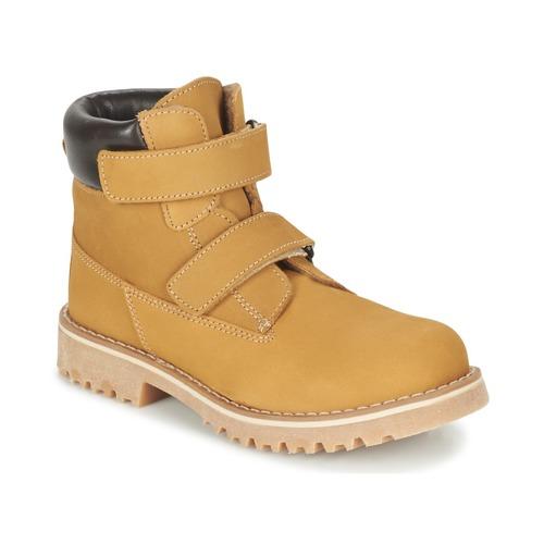 Chaussures Enfant Boots Citrouille et Compagnie FIKOURAL Beige