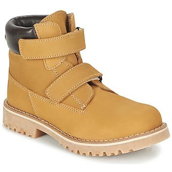 Bottines / Boots Citrouille et Compagnie FIKOURAL Beige 350x350