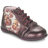 Chaussures Fille Boots Citrouille et Compagnie FRICOL Violet