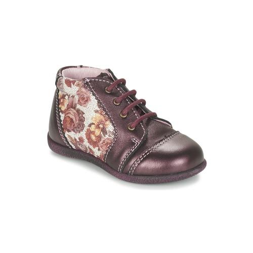 Bottines / Boots Citrouille et Compagnie FRICOL Violet 350x350