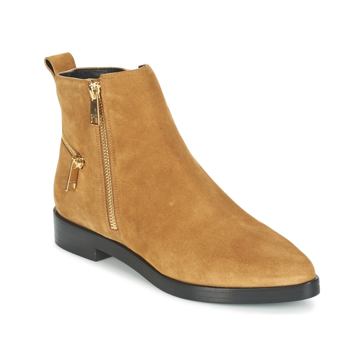 Kenzo TOTEM FLAT BOOTS Camel