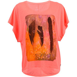T-shirts manches courtes Watts T-Shirt Manches Courtes Femme  Patta Rose Fluo
