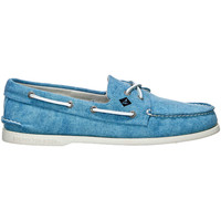 Chaussures Femme Chaussures bateau Sperry Top-Sider Chaussures Bateau  Ao 2 Eye Canvas Turquoise Homme Turquoise