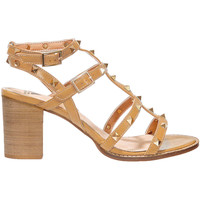 Chaussures Femme Sandales et Nu-pieds Vanessa Wu Sandales A Talons Taupe Femme Taupe