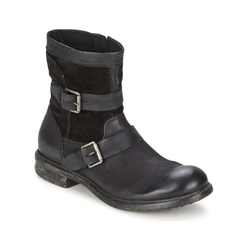 Chaussures Homme Boots Dream in Green HASSIB Nero
