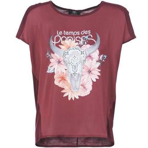 T-shirts & Polos Le Temps des Cerises CRANEFLO Bordeaux 350x350