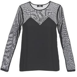 Vêtements Femme T-shirts manches courtes Le Temps des Cerises ALANNAH Noir