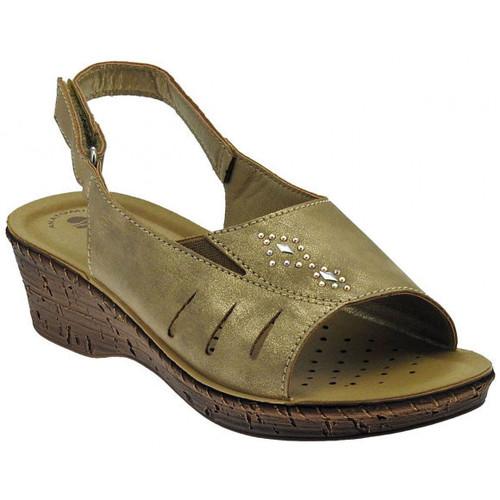 Chaussures Femme Sandales et Nu-pieds Inblu Sandalo classico cinturino zeppa Talon compensé
