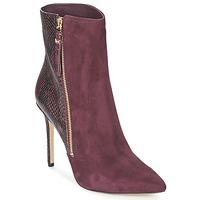 Chaussures Femme Low boots MICHAEL Michael Kors DAWSON BOOTIE Bordeaux