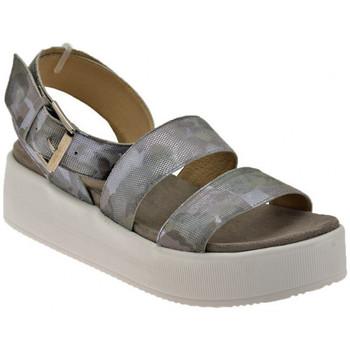 Chaussures Femme Sandales et Nu-pieds Janet&Janet Plate-formedel&39;esclaveSandales Argenté
