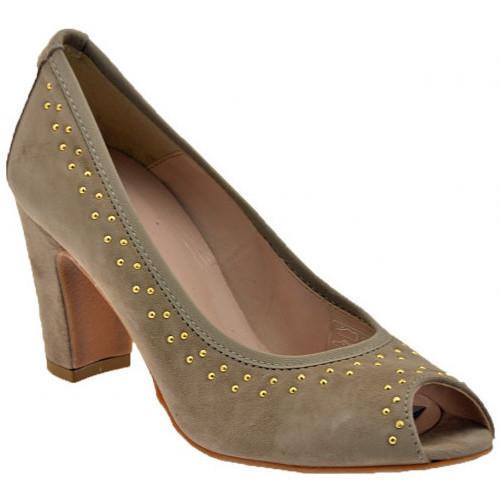 Chaussures Femme Escarpins Keys boulonsdechaussuresCourT.70estEscarpins Beige