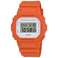 Montres & Bijoux Homme Montres Digitales Casio Montre  G-Shock Orange DW-5600M-4ER DW-5600M-ER Orange