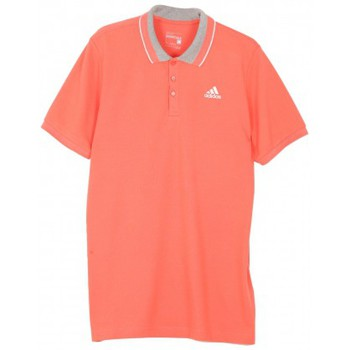 Vêtements Homme Polos manches courtes adidas Originals Polo  Ess Orange