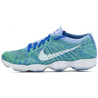 Chaussures Femme Baskets basses Nike Flyknit Zoom Agility - Ref. 698616-403 Bleu