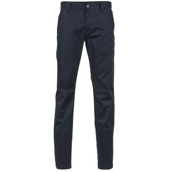 Vêtements Homme Chinos / Carrots G-Star Raw BRONSON SLIM CHINO Marine