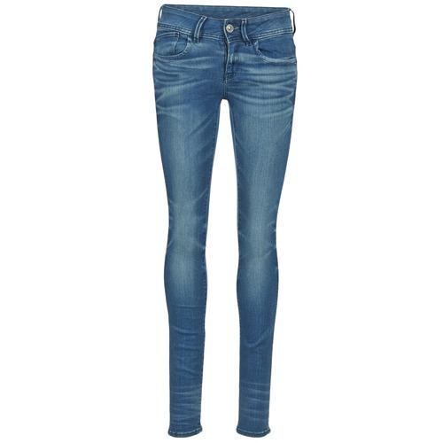 Vêtements Femme Jeans skinny G-Star Raw LYNN MID SKINNY Bleu