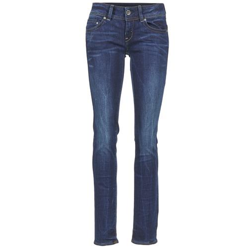 Jeans G-Star Raw MIDGE SADDLE MID STRAIGHT Neutro Stretch Denim Dk Aged 350x350