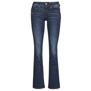 Vêtements Femme Jeans bootcut G-Star Raw MIDGE SADDLE MID BOOTLEG Neutro Stretch Denim Dk Aged