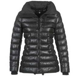 Vêtements Femme Doudounes G-Star Raw WHISTLER SLIM COAT Noir