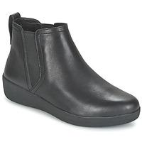Chaussures Femme Boots FitFlop SUPERCHELSEA BOOT Noir