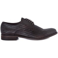 Chaussures Homme Derbies Kammi BRECOS VITELLO INTRECCIATO Marrone