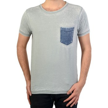 Vêtements Homme T-shirts manches courtes Petrol Industries T-Shirt Iron Gris