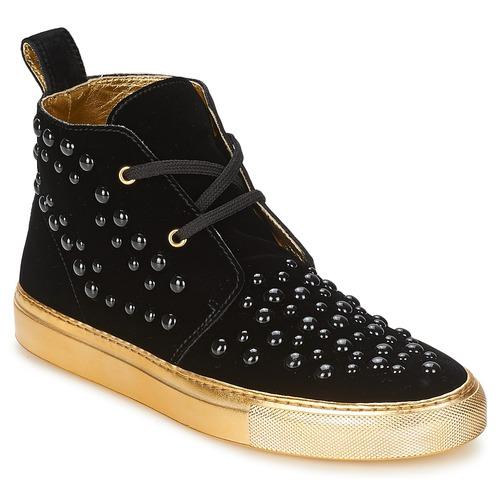Chaussures Femme Baskets montantes Sonia Rykiel 670183 Noir
