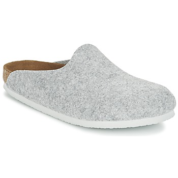 Chaussures Femme Mules Birkenstock AMSTERDAM Gris Clair