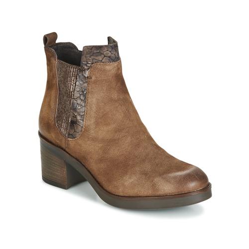 Bottines / Boots Mjus BOUNTY Beige 350x350