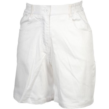 Vêtements Femme Shorts / Bermudas Elegance Oceane Voile blanc short Blanc
