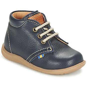 Chaussures Garçon Boots Kavat HAMMAR LACE Bleu