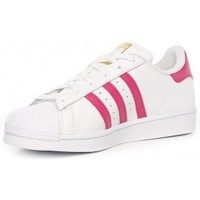 Chaussures Fille Baskets basses adidas Originals adidas Superstar Foundation Junior