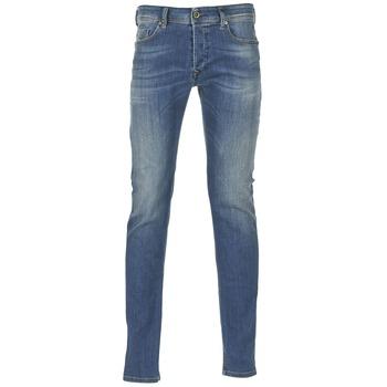 Vêtements Homme Jeans skinny Diesel SLEENKER Bleu 0855Q