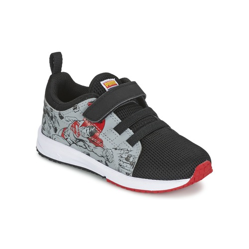 Chaussures Enfant Baskets basses Puma Carson Runner Superman V Kids Noir / Gris
