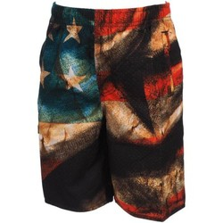 Vêtements Garçon Shorts / Bermudas Freegun Skw rge boardshort jr Rouge