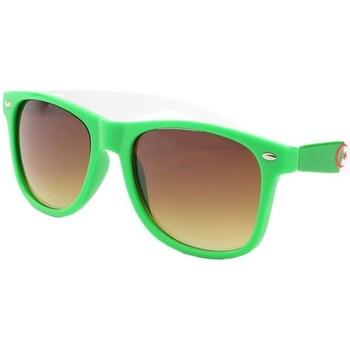 Montres & Bijoux Homme Lunettes de soleil Eye Wear Lunette de soleil Algerie verte, blanche et rouge Vert