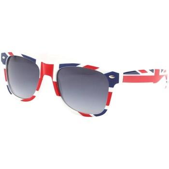 Montres & Bijoux Homme Lunettes de soleil Eye Wear Lunettes de soleil angleterre drapeau UK Bleu
