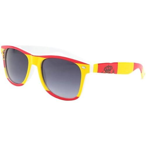 Montres & Bijoux Homme Lunettes de soleil Eye Wear Lunette de soleil Espagne Rouge et Jaune Rouge