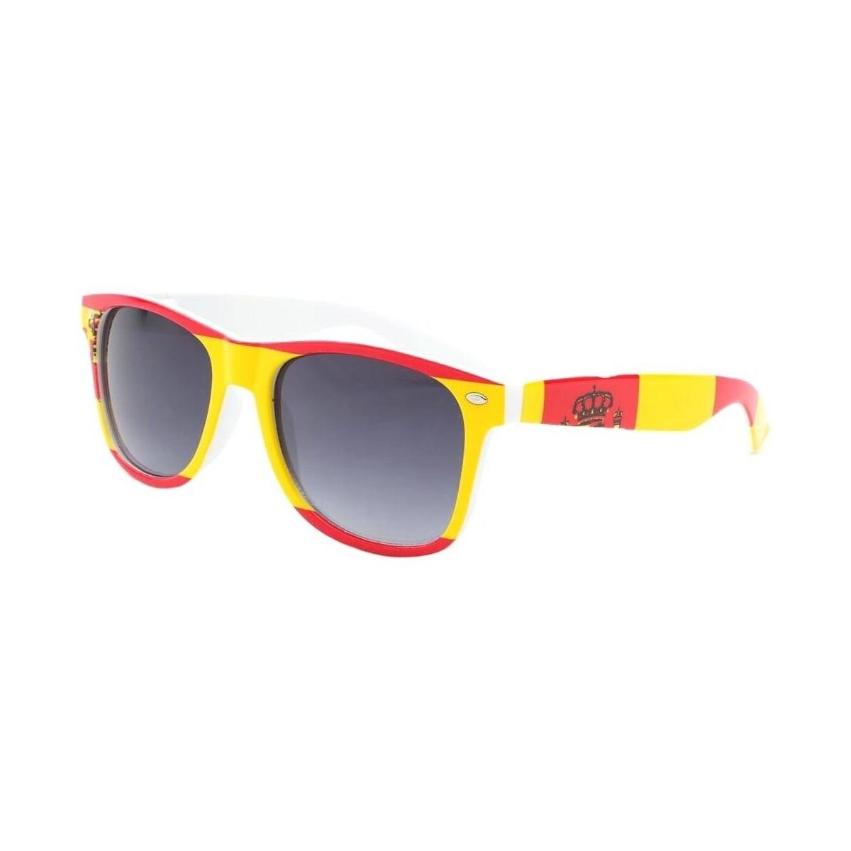 Eye Wear Lunette de soleil Espagne Rouge et Jaune Rouge