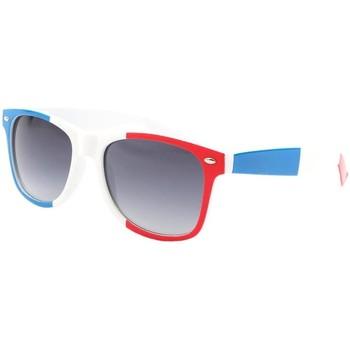 Montres & Bijoux Homme Lunettes de soleil Eye Wear Lunettes de soleil France Bleu Blanc Rouge Bleu