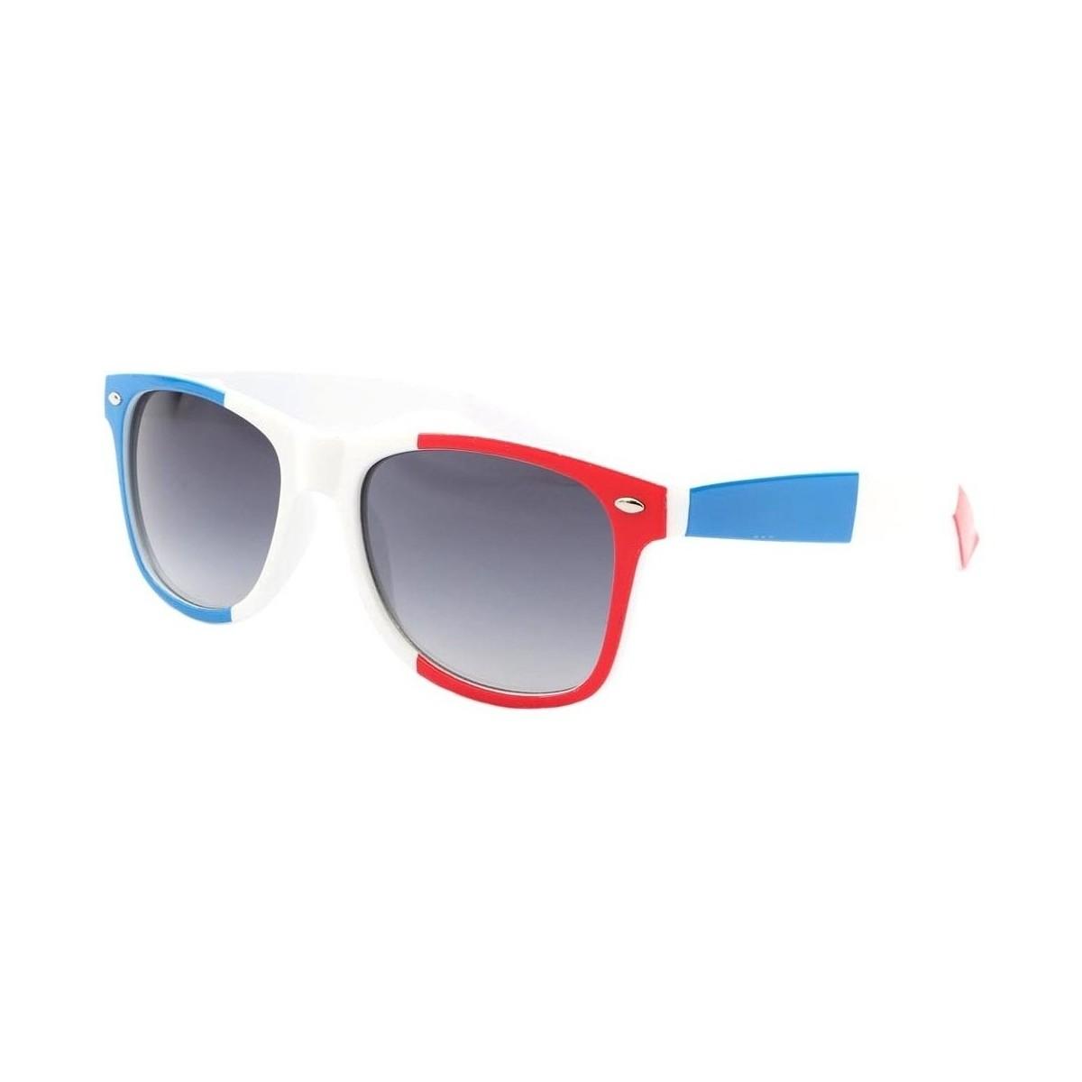 Eye Wear Lunettes de soleil France Bleu Blanc Rouge Bleu