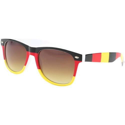 Montres & Bijoux Homme Lunettes de soleil Eye Wear Lunettes de soleil Allemagne Noire Rouge Jaune Noir