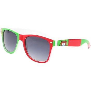 Montres & Bijoux Homme Lunettes de soleil Eye Wear Lunettes de soleil Portugal verte et rouge Vert