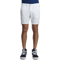 Vêtements Homme Shorts / Bermudas Meltin'pot Short Chino  Prudens Blanc Homme Blanc