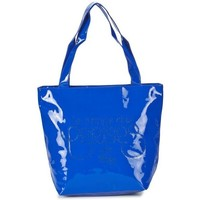 Sacs Femme Sacs porté main Le Temps des Cerises Sac Shopping  Rumba 16 Bleu Royal Bleu