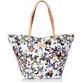 Christian Lacroix Sac shopping  Eden 1 Papillon Blanc
