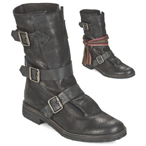 Chaussures Femme Boots Felmini CREPONA Noir